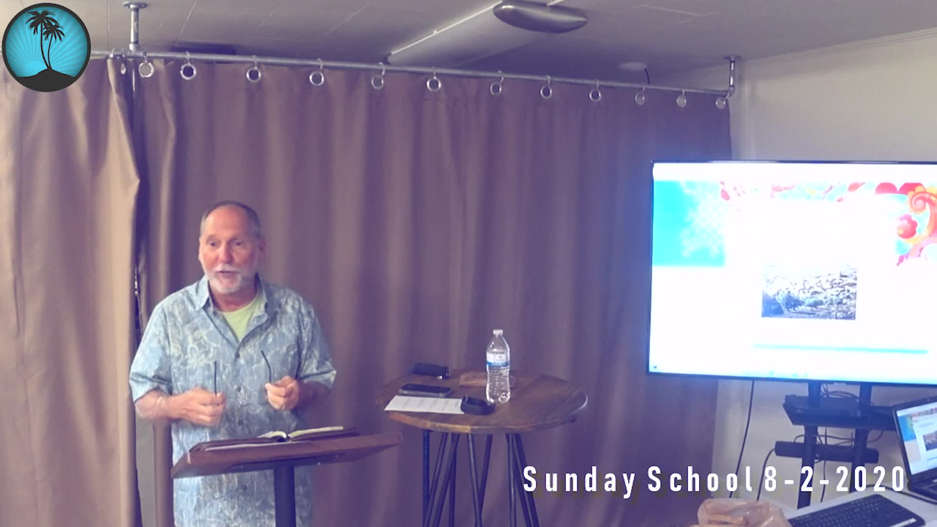 Sunday School 1st Service 892020