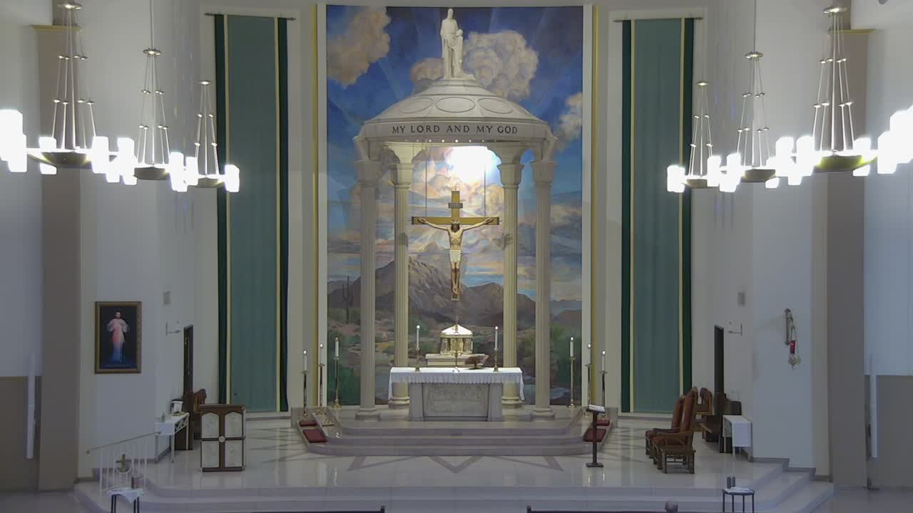 Wed Aug 26th Daily Mass School