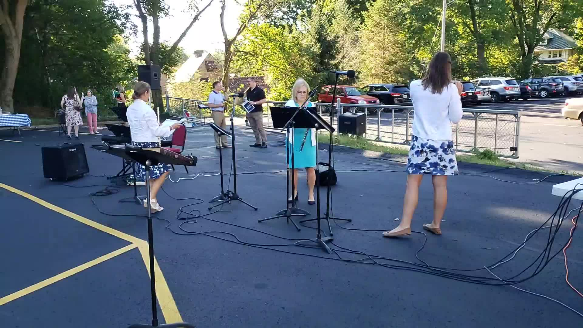 August 30 Outdoor Worship