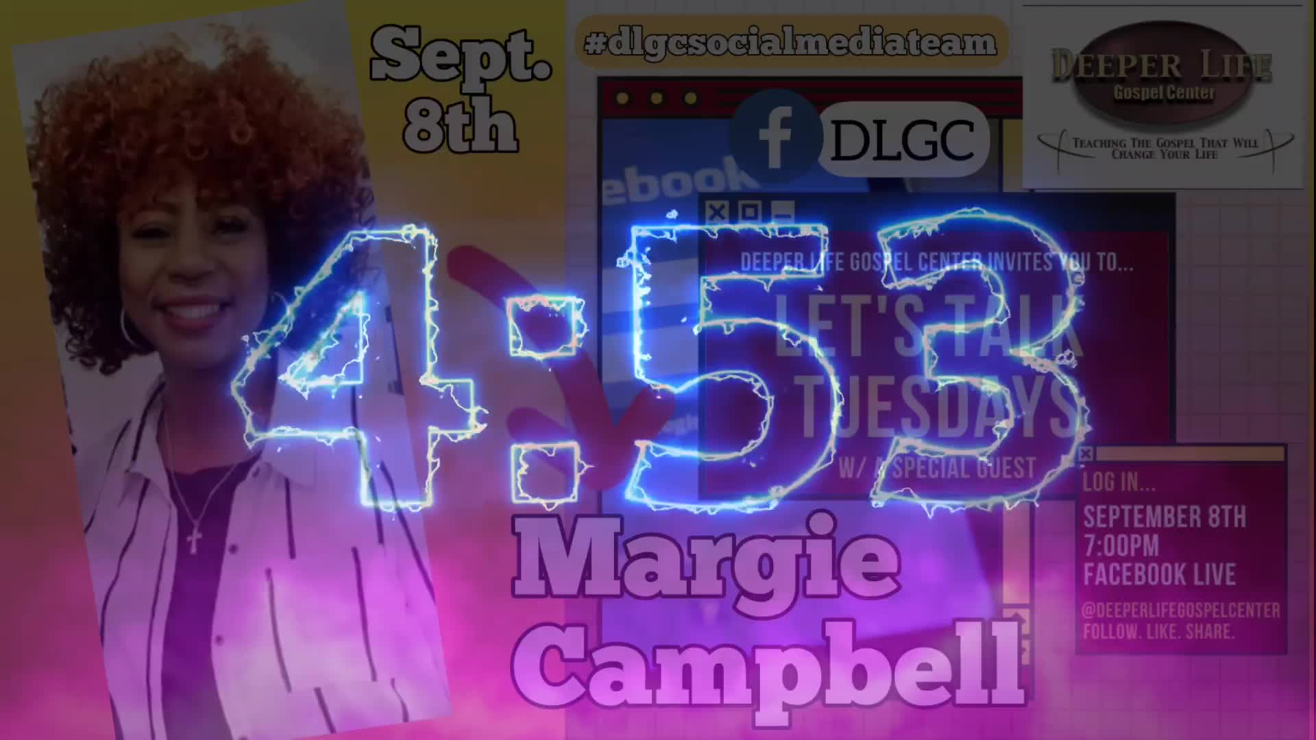 Lets Talk Tuesday wMargie Campbell