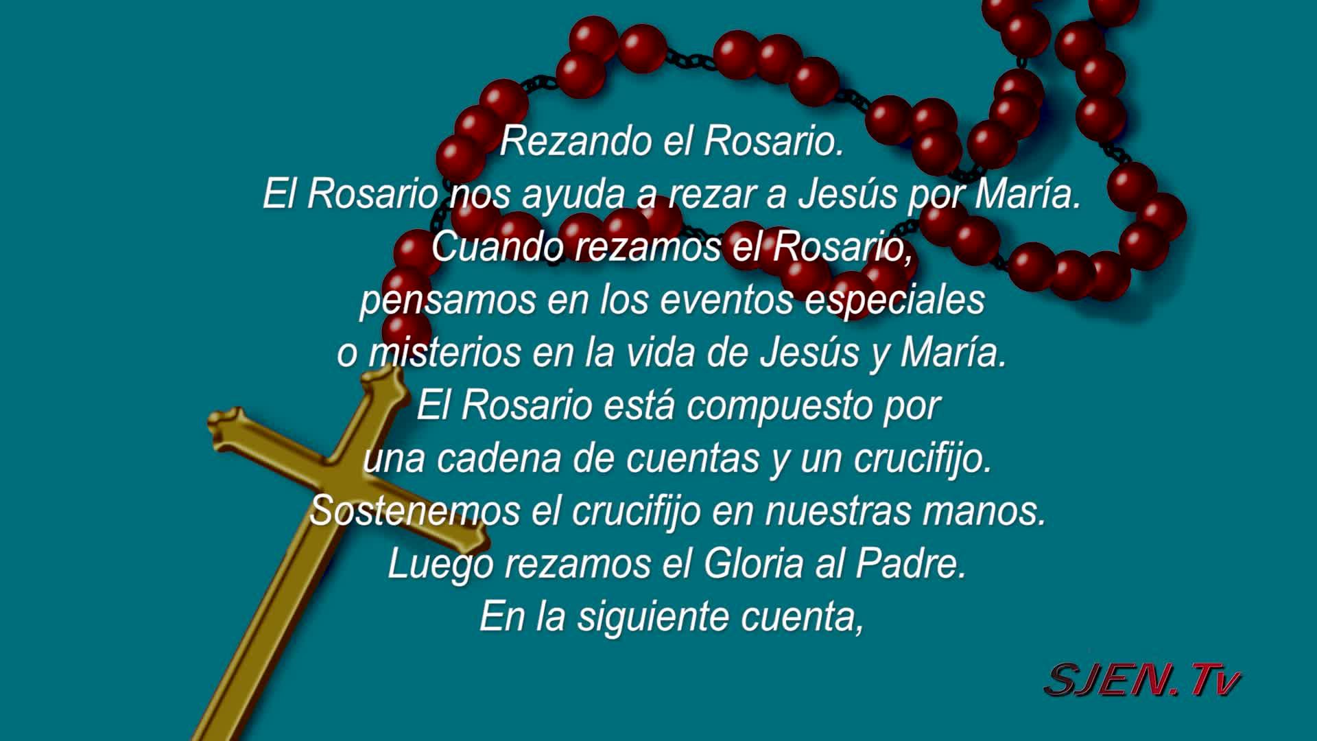 Cómo rezar el rosario del rosario