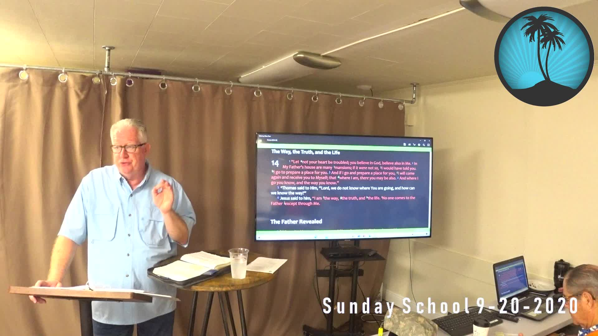 Sunday School 1st Service