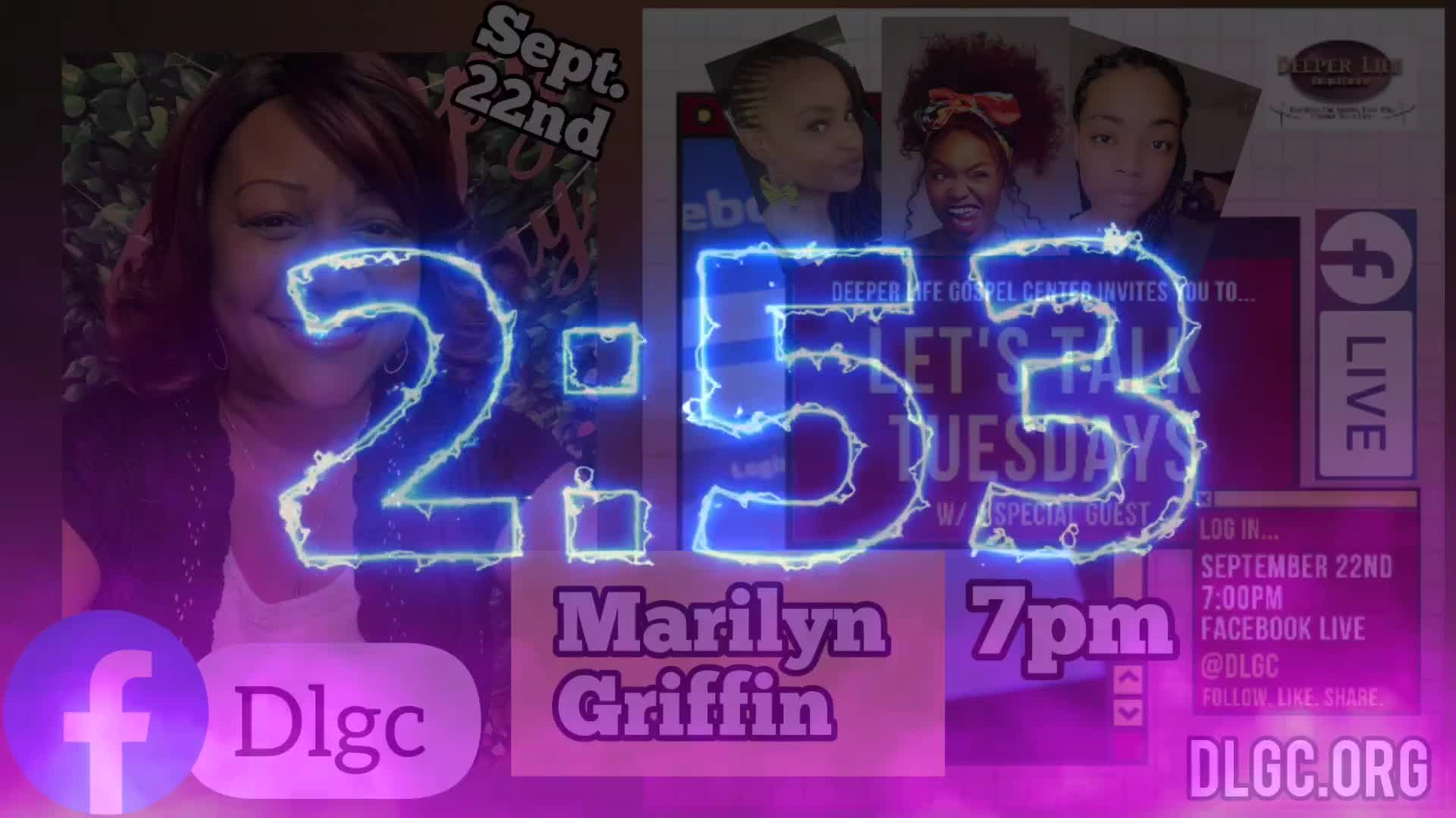 Lets Talk Tuesday wMarilyn Griffin