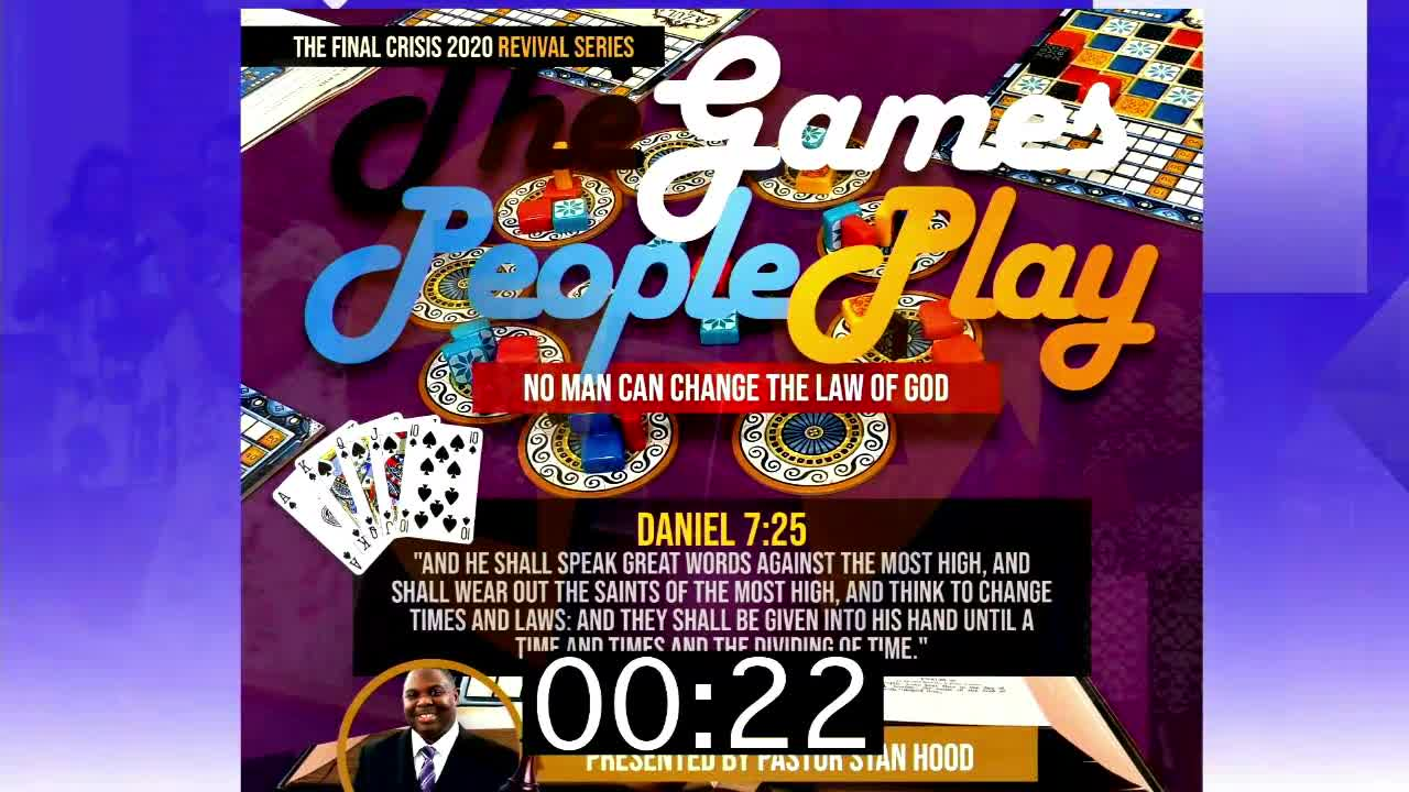 The Games People Play  Fall Revival Series