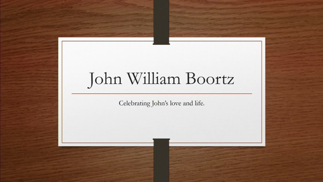 Oct 2 2020 John Boortz Celebration of Life