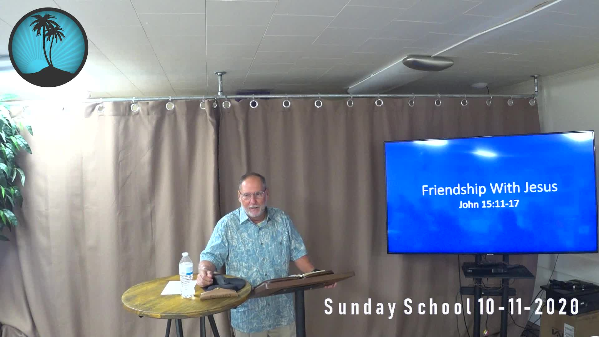 Sunday School 1st Service 10112020