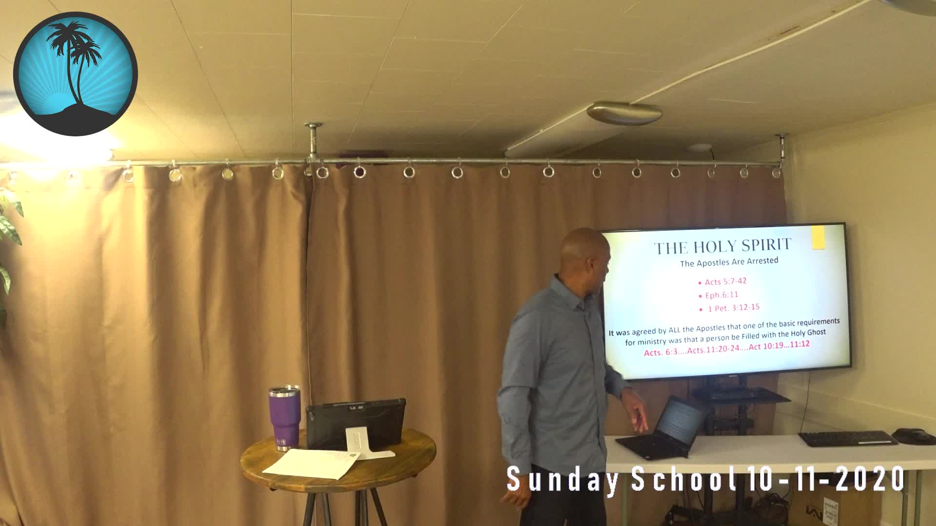Sunday School 2nd Service 10112020
