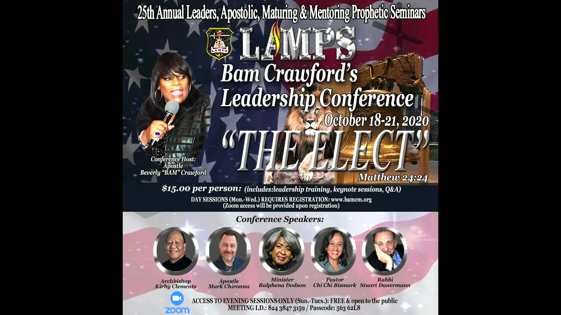 25TH ANNUAL LAMPS CONFERENCE