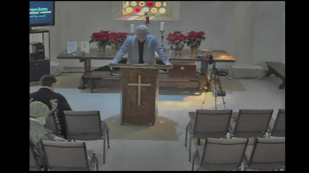 Pastor Dave Finley 12/13/2020