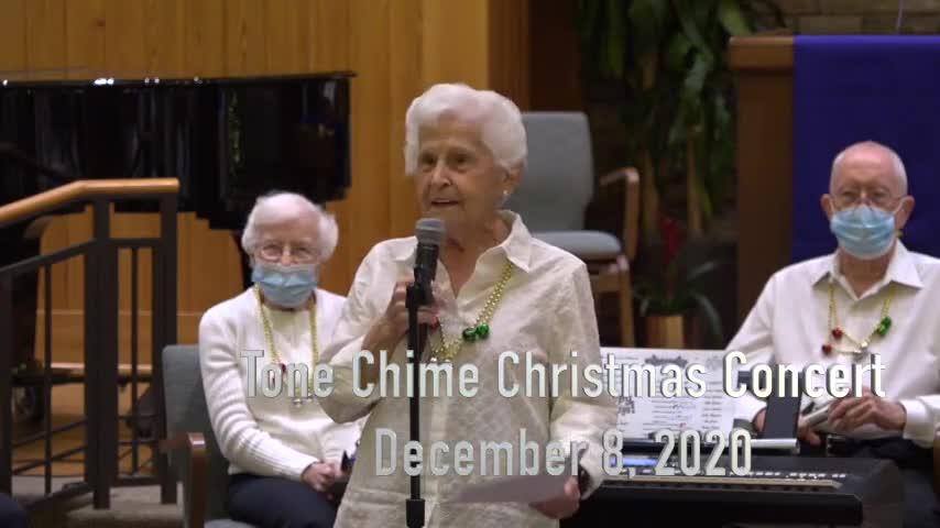 Tone Chimes Christmas Concert