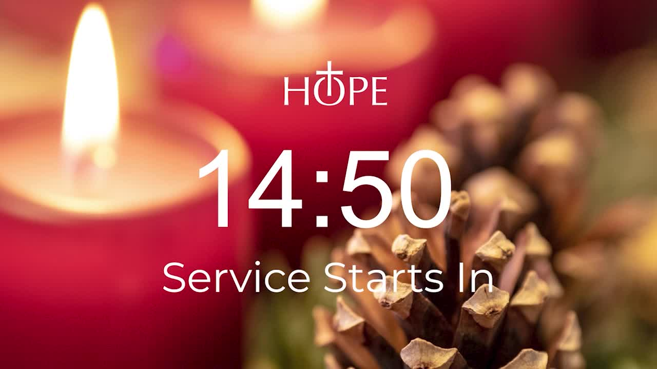 4th Sunday in Advent 2020 - With Rev. Scott