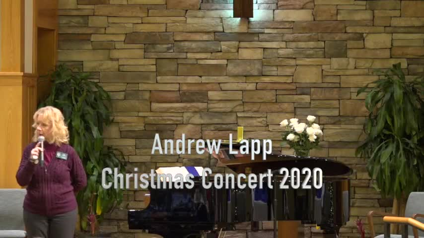 Andrew Lapp Christmas Concert