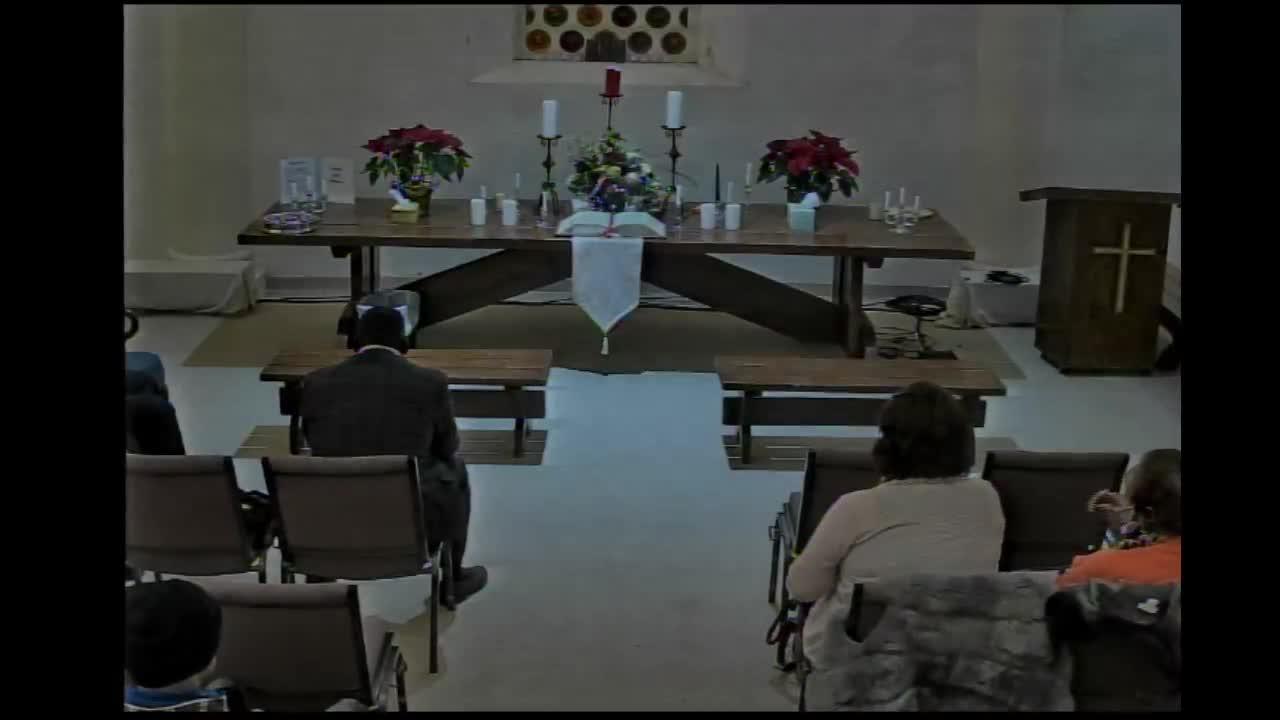 2020 Candle light communion