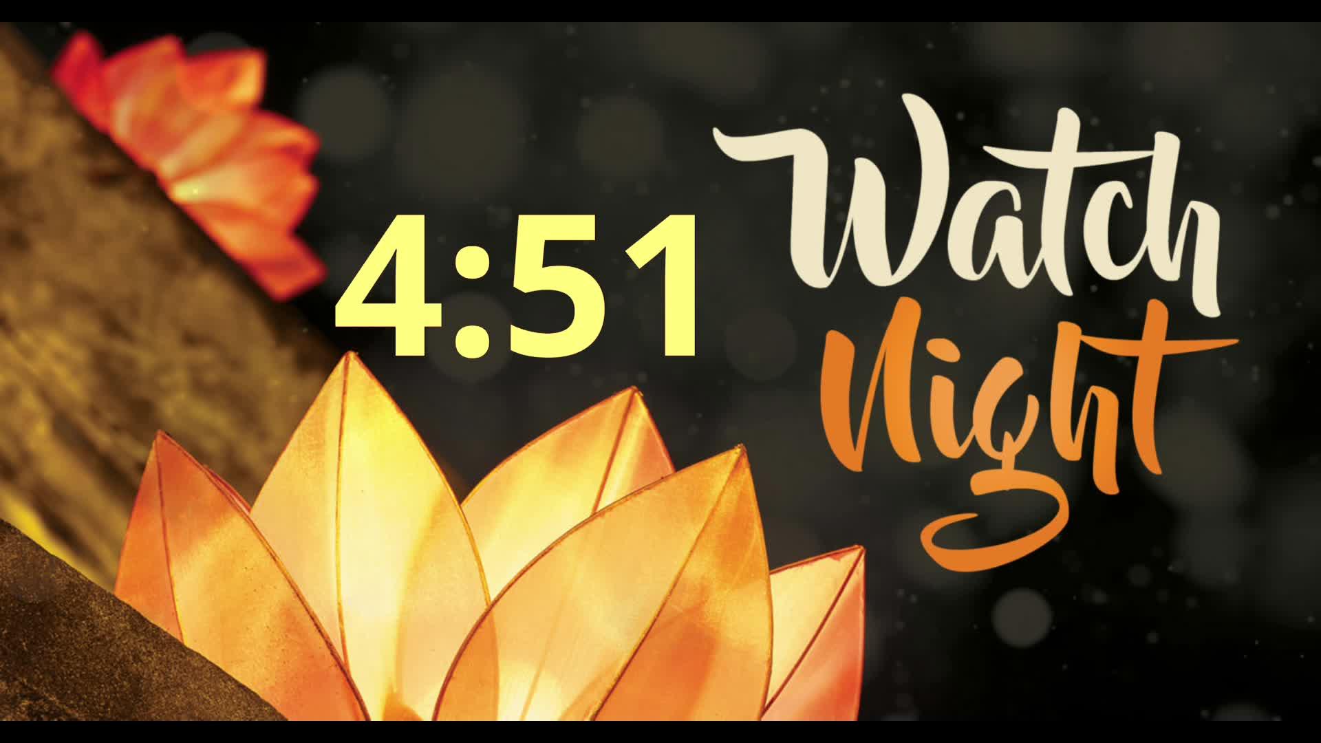 Watch  Night Services