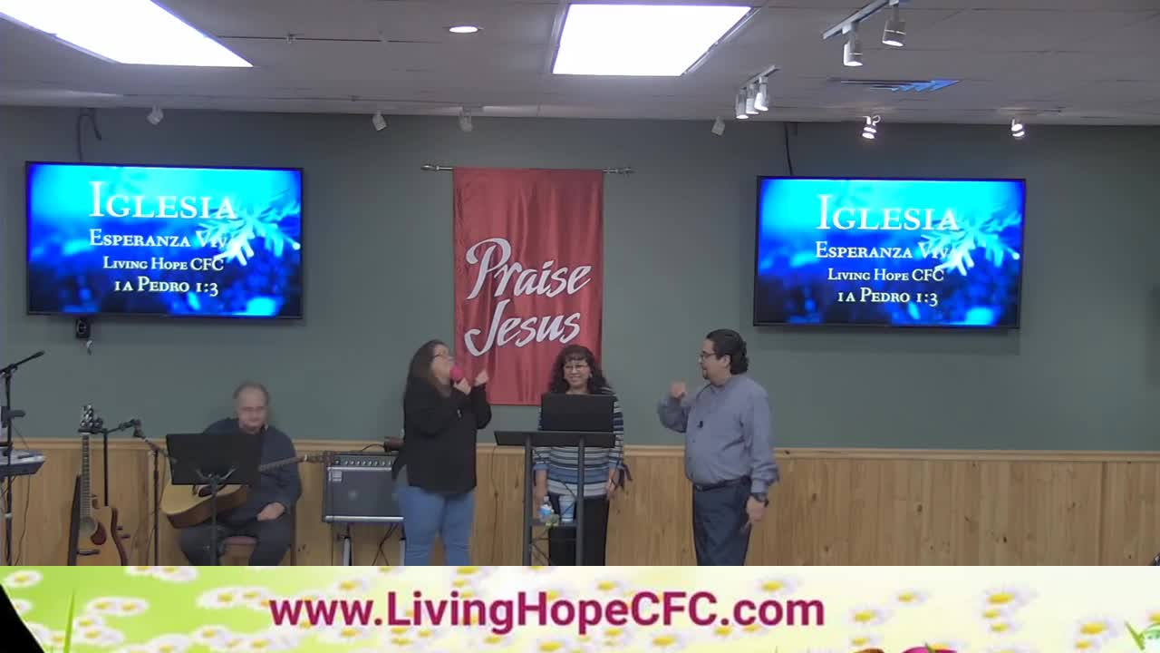 Iglesia Esperanza Viva live stream today