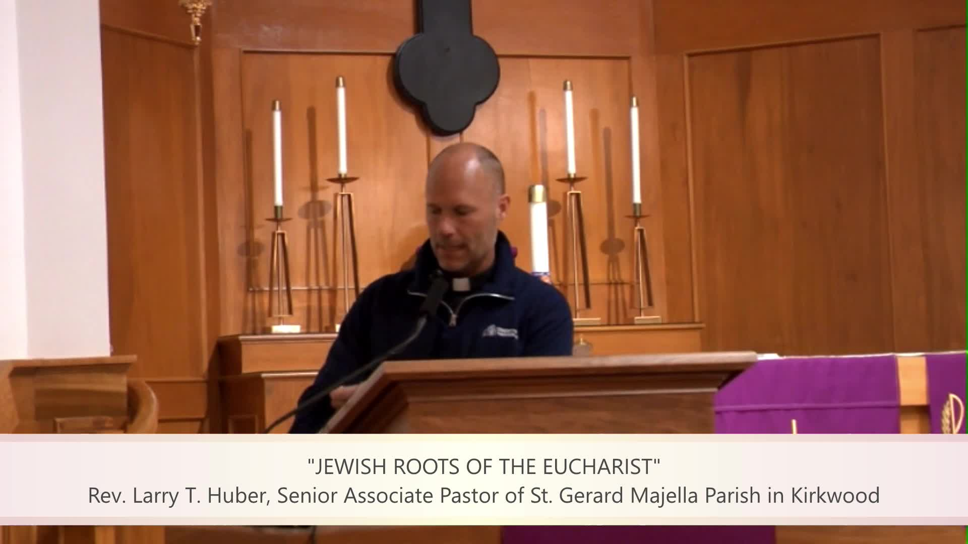 Jewish Roots of the Eucharist
