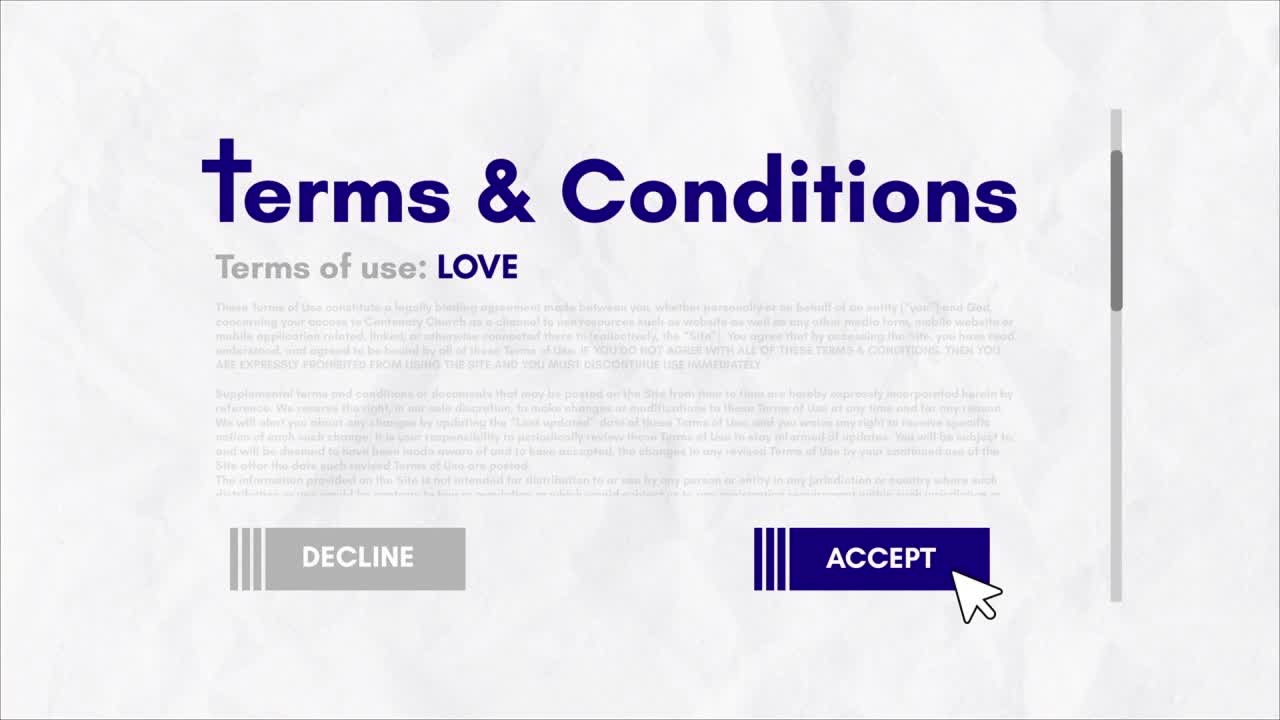 Terms  Conditions Love