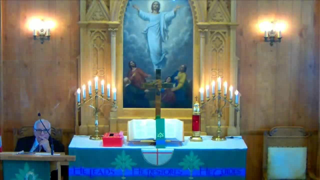 St. John's Service Sunday 2/14/2021