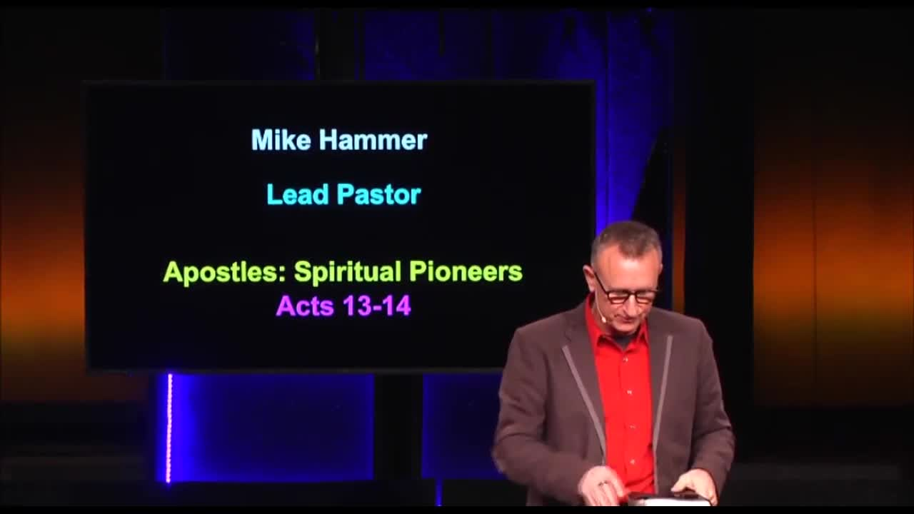 Apostles: Spiritual Pioneers