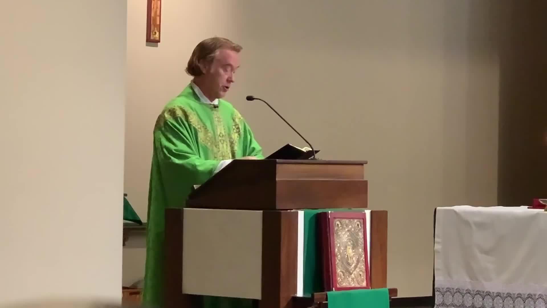 Catholic Priest Unloads on Pro-Abortion Catho