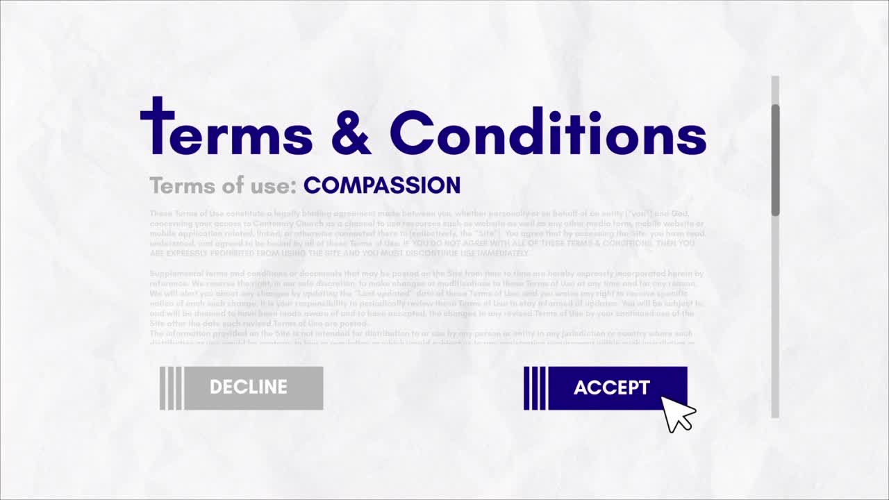 Terms  Conditions Compassion