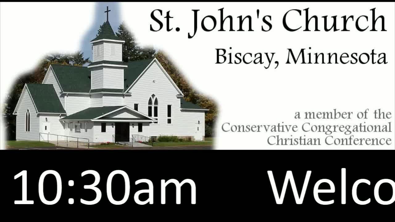 St. John's Service Sunday 2/21/2021