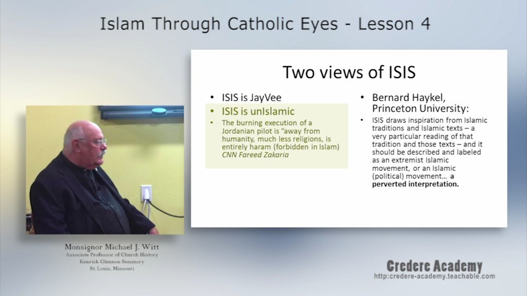 Islam throuth Catholic Eyes 4