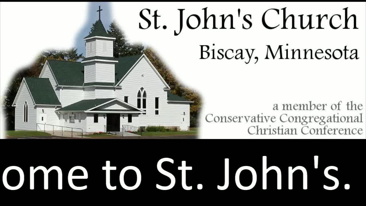 St. John's Service Wednesday 2/24/2021