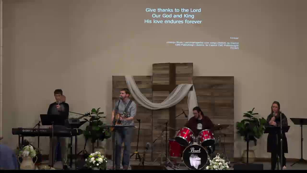 2-28-21 Worship - Jared Bontrager