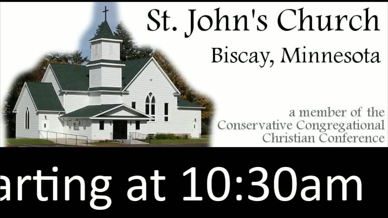 St. John's Service Sunday 3/7/2021