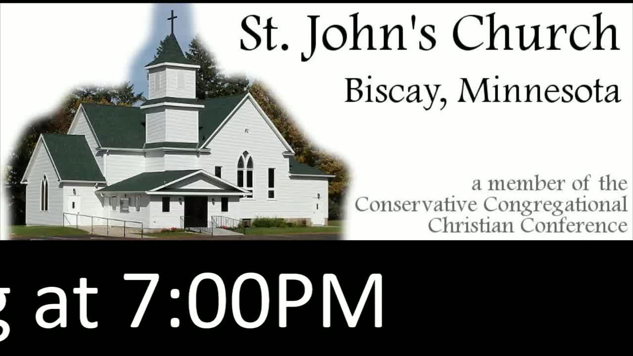 St. John's Service Wednesday 3/10/2021