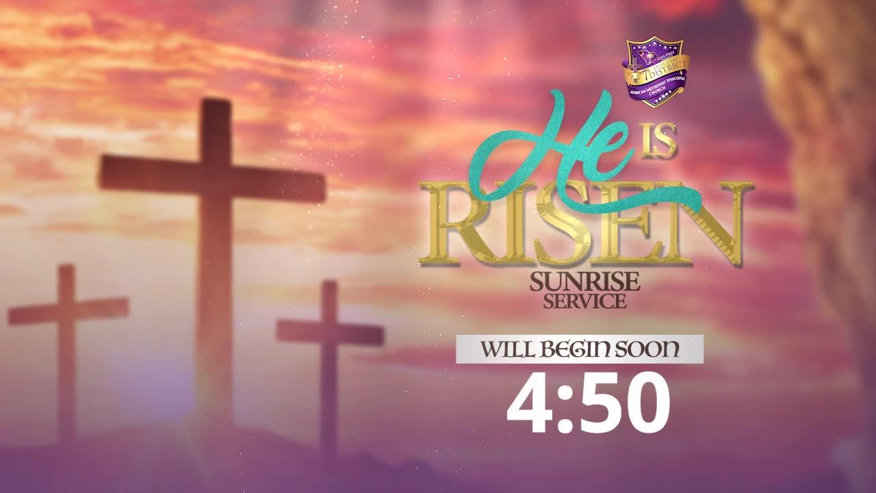 Easter Sunrise Service 2021