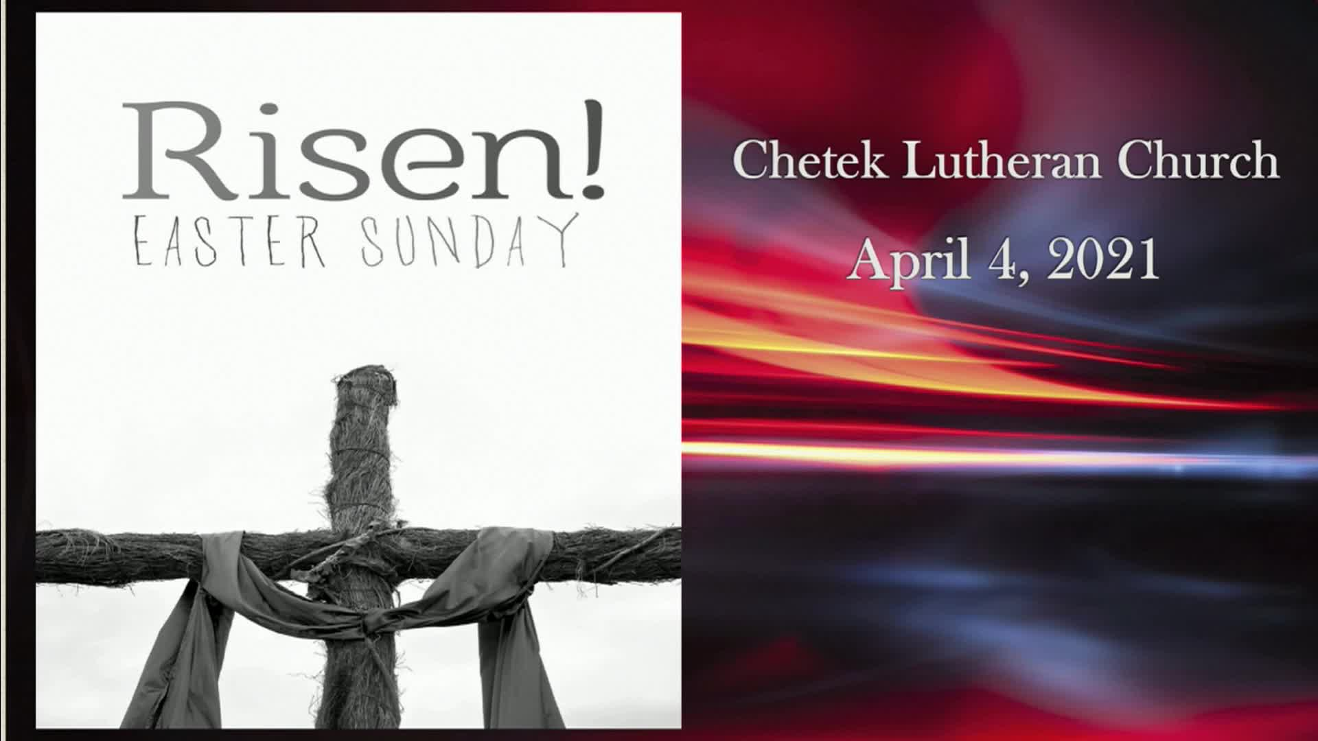 April 4 2021 Easter Sunday
