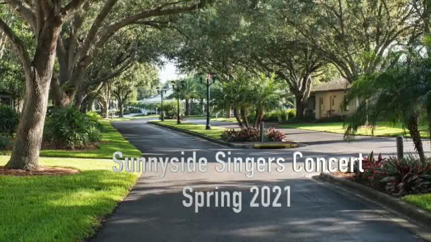 Sunnyside Singers Spring Concert 2021