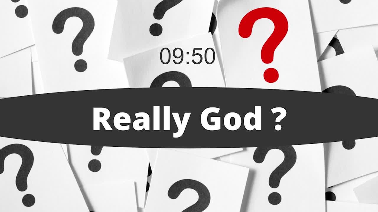 Really God? - Expectations
