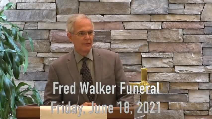Fred Walker Funeral 210618