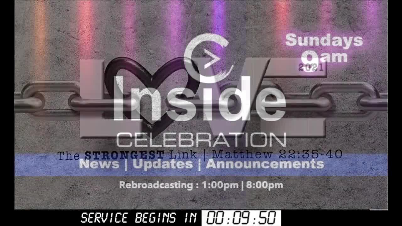 Celebration Church Live 7-11-2021