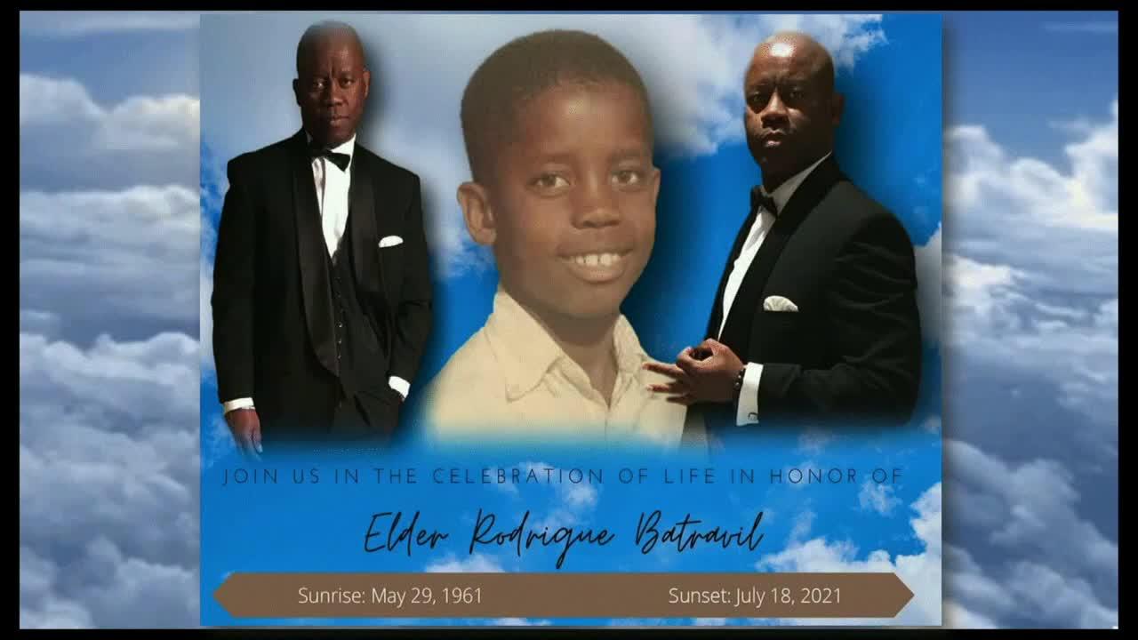 Celebration of Life - Elder Rodrigue Batravil