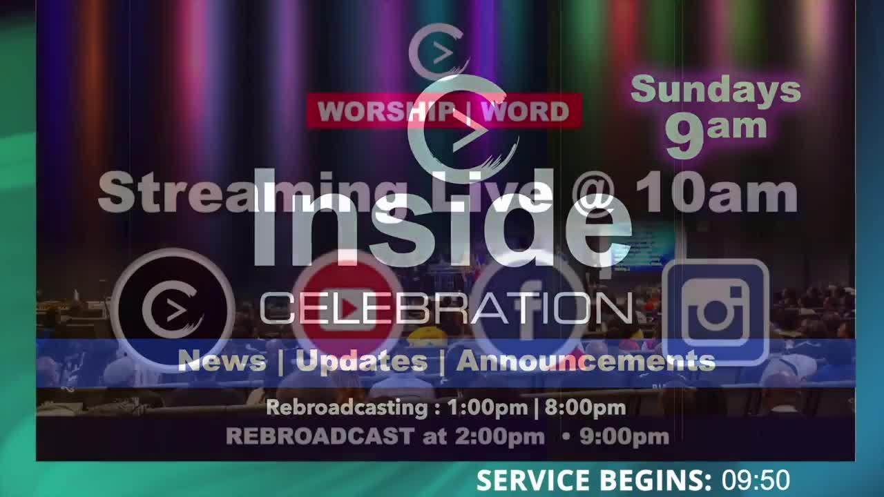 Celebration Church Live! 8-15-2021