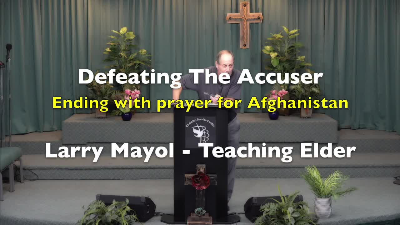 Defeating The Accuser