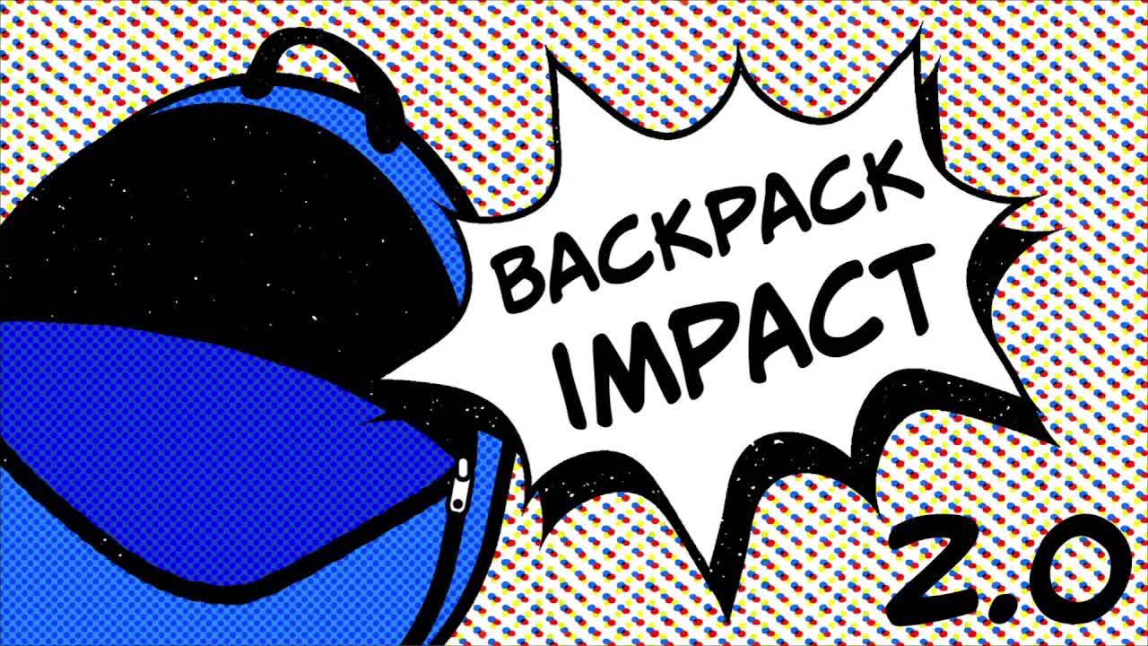 """Traditional: """"Backpack Impact: Self Talk"""