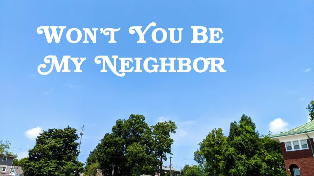 """""""Won't You Be My Neighbor: Table"""