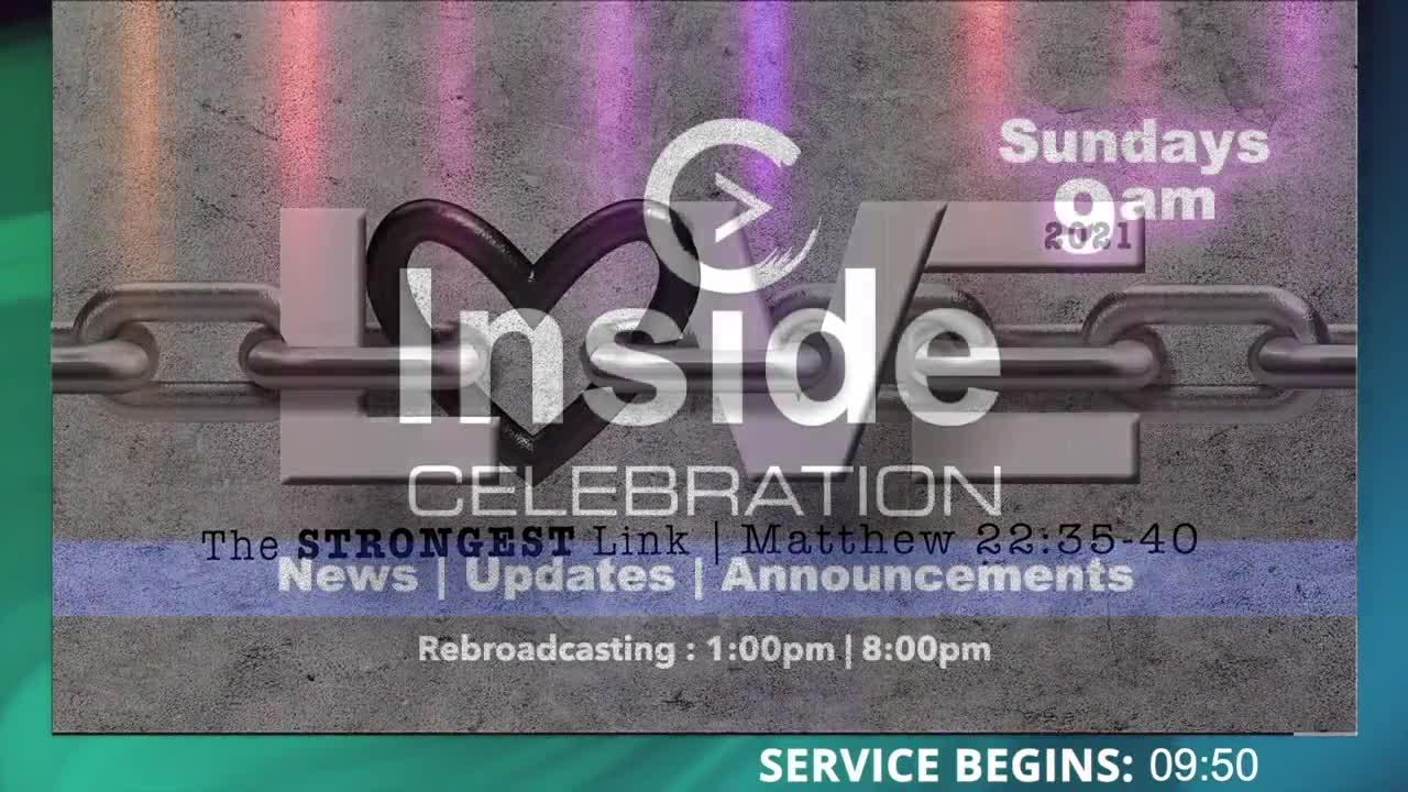 Celebration Church Live! 10-17-2021