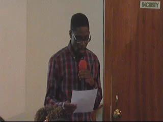 Tangela and Basie initial sermons