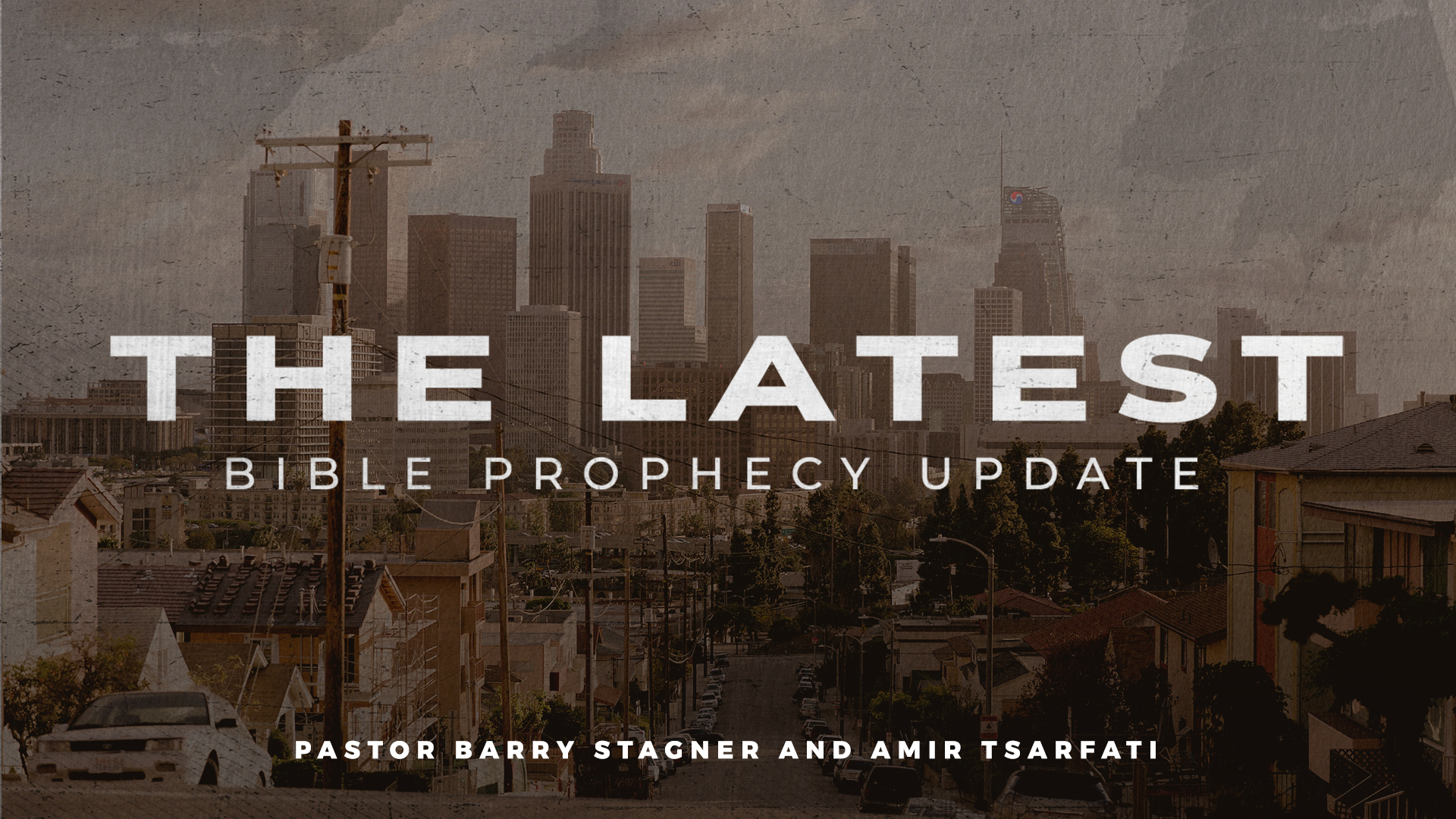 The Latest Bible Prophecy Update