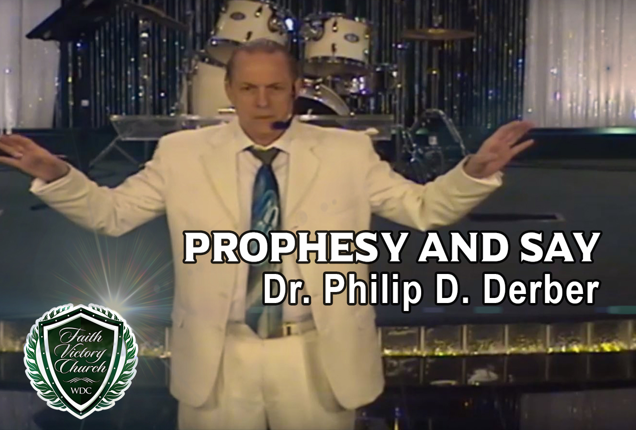 Prophesy and Say
