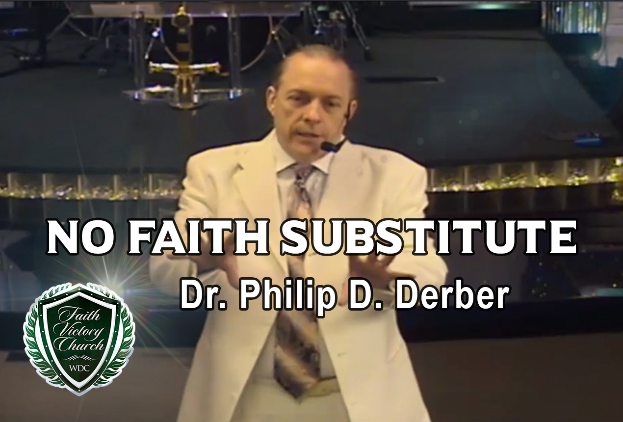 No Faith Substitute