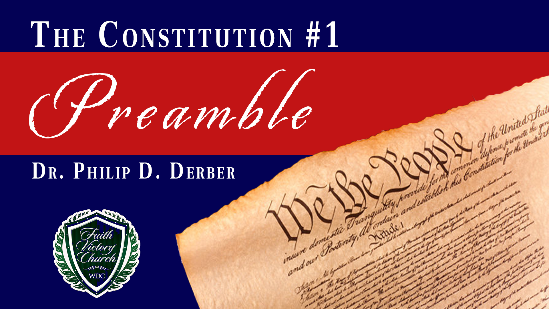Constitution 1 Preamble