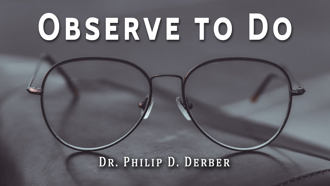 Observe to Do