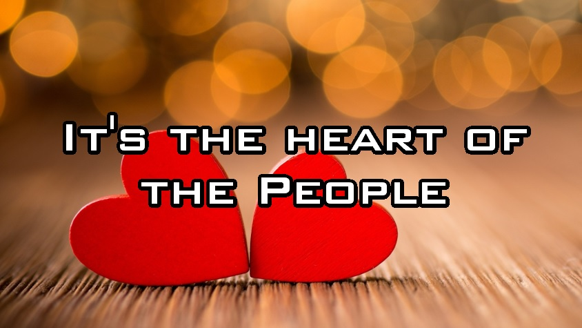It's the Heart of the People